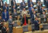 Pokyčiai Seime: tyrimas atskleidė, su kuo susitinka politikai darbo metu
