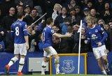 """""""Premier"""" lygoje – dramatiškos """"Everton"""" ir """"Watford"""" lygiosios"""