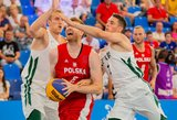Lietuvos krepšininkų žygį Europos žaidynėse sustabdė lenkai