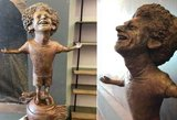 Nesusipratimas: Mohamedui Salah skirta skulptūra iškart tapo pajuokų objektu