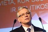 Ministras optimistiškas dėl gynybos išlaidų didinimo
