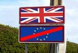 "Paskelbta Britaniją drebinanti ""Brexit"" strategiją: gresia ""tikras smūgis"""