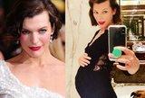 43-ejų aktorė Jovovich laukiasi: neslepia nerimo