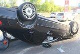 Vilniuje – avarija: girtas vairuotojas daužė automobilius