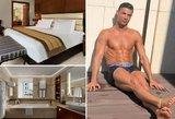 Šiame kambaryje nakvojo Ronaldo: kaina dvigubai viršija minimalią algą