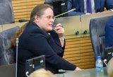 Širinskienė laukia Pranckiečio atsakymų: Seimo pirmininkas teigia jau atsakęs