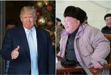 Donaldo Trumpo atsakas įsiutins Šiaurės Korėją