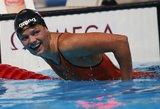 FINA bausmė: už dopingo vartojimą J. Jefimovai – 16 mėnesių diskvalifikacija