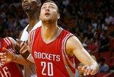"""Donatas Motiejūnas prisidėjo prie """"Rockets"""" pergalės"""