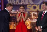 """Laidoje """"Gero vakaro šou"""" debiutavo Meschino pakeitusi mergina: akį traukianti gražuolė"""