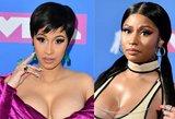 Ginčas tarp garsių atlikėjų Nicki Minaj ir Cardi B – viršijo ribas: grasinama mirtimi