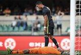 Sulaužius varžovo nosį – klasiškas Cristiano Ronaldo poelgis