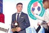 LFF metų futbolininku išrinktas Fedoras Černychas