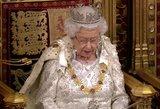 """Londone – išskirtinė diena: Elžbieta II prabilo apie """"Brexit"""""""