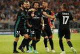 """Pirmajame futbolo spektaklyje """"Real"""" pasinaudojo """"Bayern"""" klaidomis"""