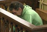 Kražių žudiko byla teisme: gresia įkalinimas iki gyvos galvos