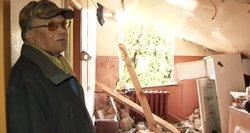 Iš namo Rokiškio raj. liko tik griuvėsiai: išgyveno per stebuklą