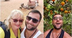 Atlikėjo Manto atostogos su mylimąja Maroke vos nesibaigė nelaime: taip nutikti gali kiekvienam