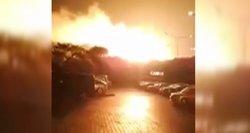 Galingas sprogimas Kipre: nusiaubė ir turistų viešbučius