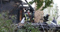 Kraupi sekmadienio nelaimė: per gaisrą Vilniuje žuvo žmogus