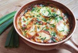 Greita ir itin gardi bulvių užkepėlė: tobulai vakarienei su stikline kefyro