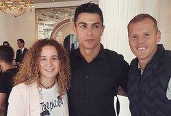 Žymųjį Ronaldo namo išlydėjo trys lietuviai: atskleidė, kodėl jis liko Lietuvoje ilgiau