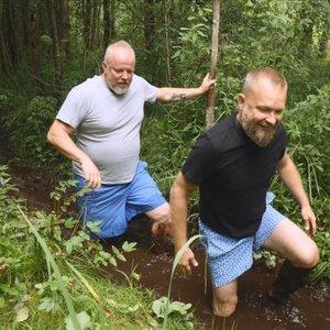 Radzevičius ir Starkus leidosi į ekstremalią kelionę: vieni bijo, kiti – nenori