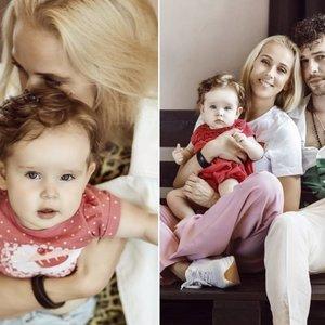 Stasiulytės ir Meškausko dukrai Frėjai – vieneri: jos gimimas pakeitė santykius