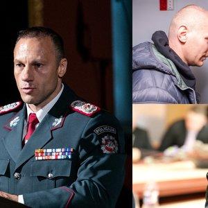 Pernavas prabilo apie Kauno policijos vadovo likimą po korupcijos skandalo