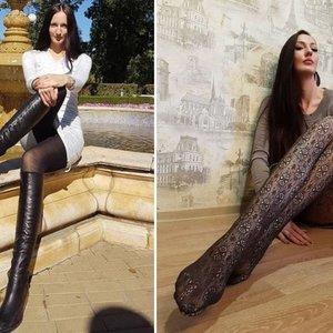 Nepatikėsite savo akimis: rusaitės kojos – ilgiausios pasaulyje