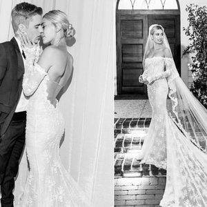 Paviešintos Bieberio vestuvių nuotraukos: nuotaka suknelėje užkodavo žinutę