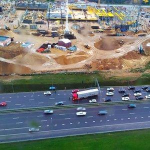 Avarija Vilniaus vakariniame aplinkkelyje: susidūrė dvi transporto priemonės, formuojasi automobilių spūstis