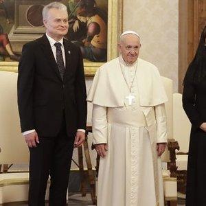 Drukteinis sukritikavo Nausėdienės įvaizdį Vatikane: atrodo makabriškai