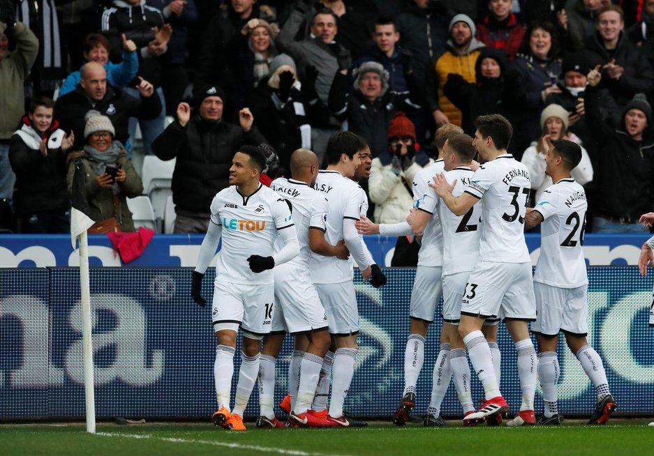"""""""Swansea City"""" (nuotr. SCANPIX)"""
