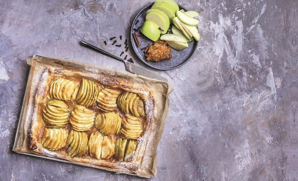 Tartaletė su obuoliais Leidinio IKI Skanaus nuotr.