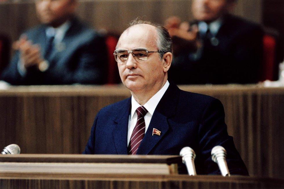 M. Gorbačiovas