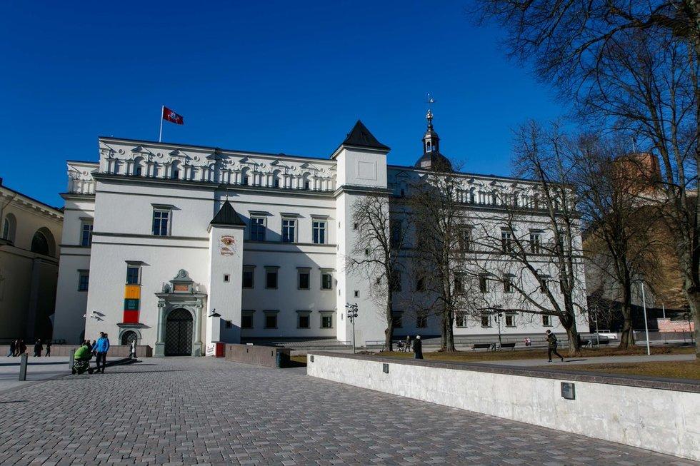 Lietuvos valdovų rūmai (nuotr. Tv3.lt/Ruslano Kondratjevo)