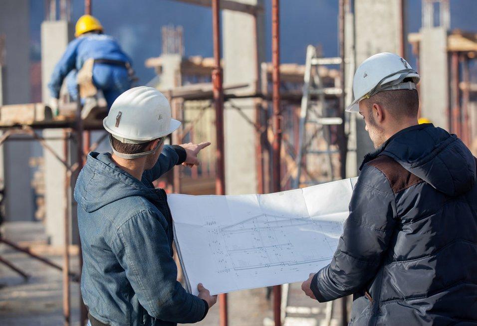 Statybininkai (nuotr. Fotolia.com)