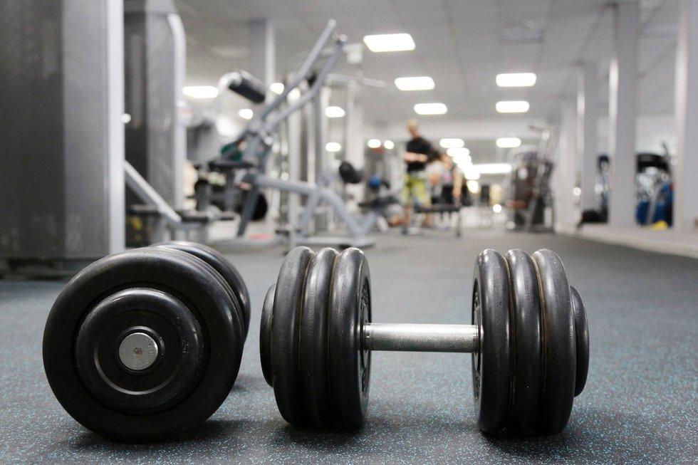 Sporto salė (nuotr. 123rf.com)