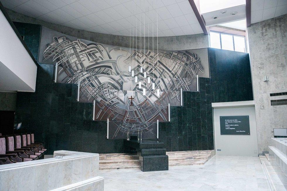 Vilniaus laidojimo rūmai, didžiausia salė