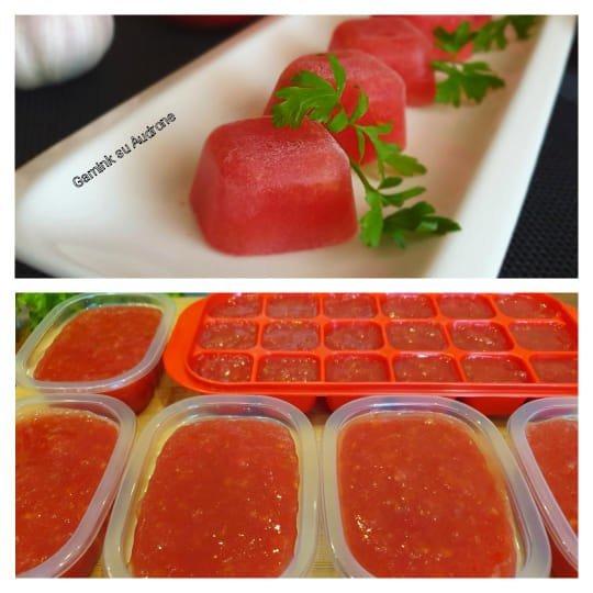 Užšaldyti pomidorai (Gamink su Audrone nuotr,)