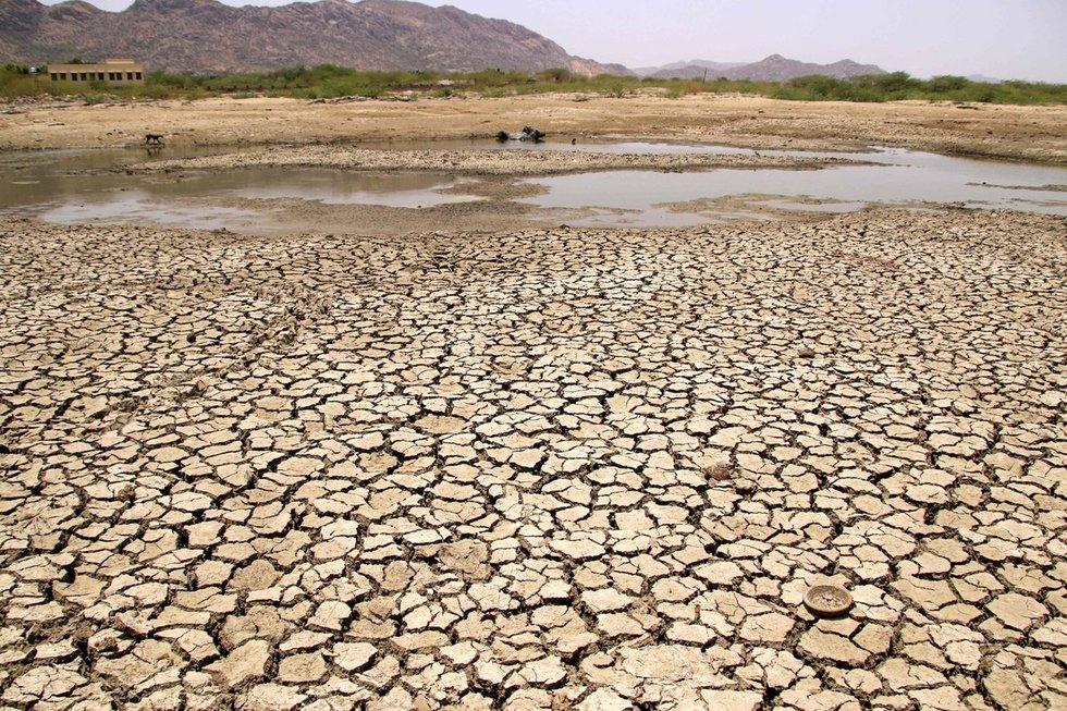 Indija, vandens trūkumas (nuotr. SCANPIX)