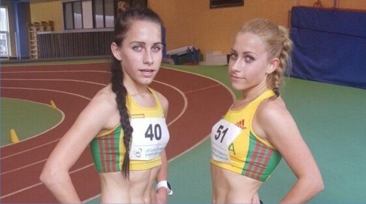 Sesės dvynės Monika ir Živilė Vaiciukevičiūtės (nuotr. asm. archyvo)