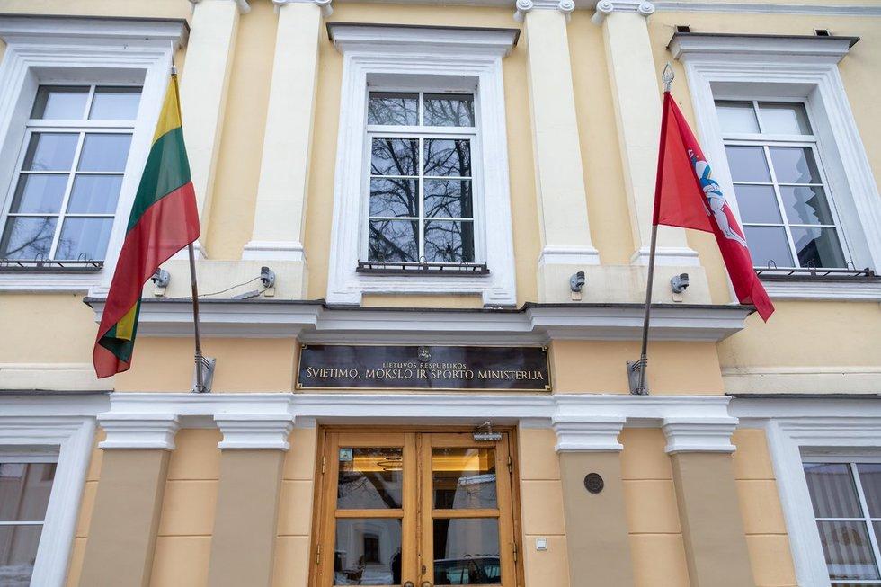 Švietimo, mokslo ir sporto ministerija (nuotr. Fotodiena/Justino Auškelio)