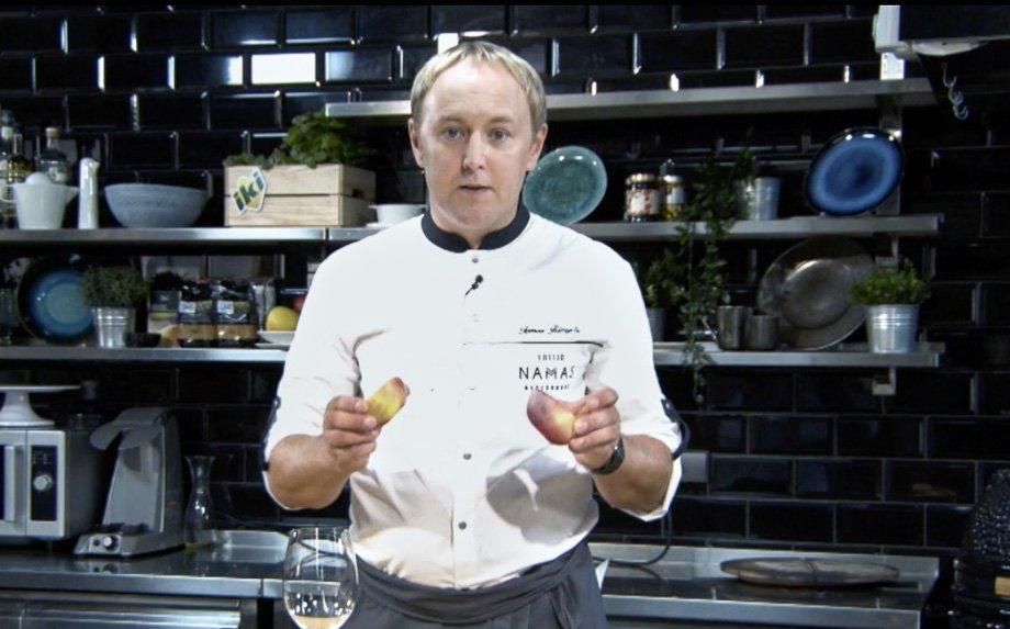 virtuvės šefas Tomas Rimydi