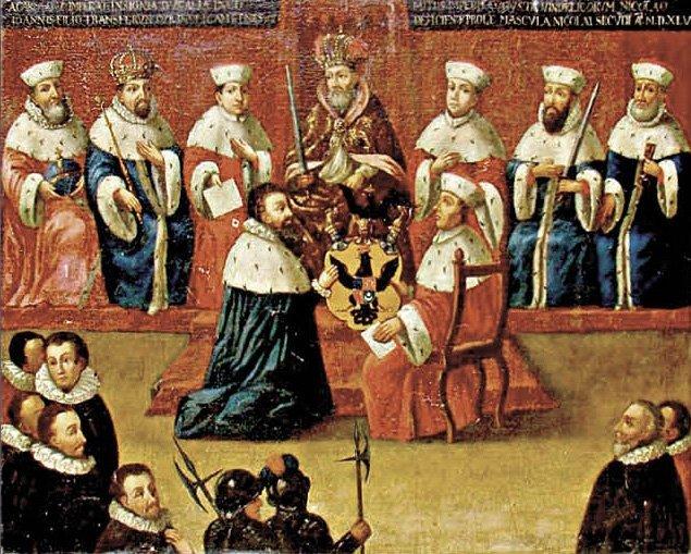 Radviloms teikiamas kunigaikščių titulas (LMD nuotr.)