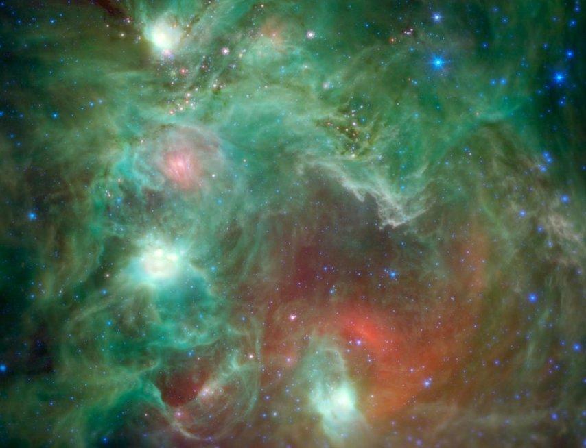 NASA užfiksuoti įspūdingiausi rugpjūčio kadrai (nuotr. SCANPIX)