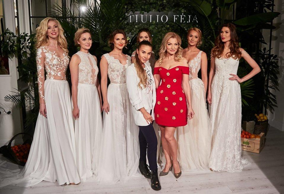 Viktorijos Jakučinskaitės vestuvių suknelių kolekcija (nuotr. Tv3.lt/Ruslano Kondratjevo)