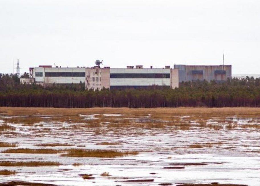 Rusijos karinė bazė šalia Baltosios jūros