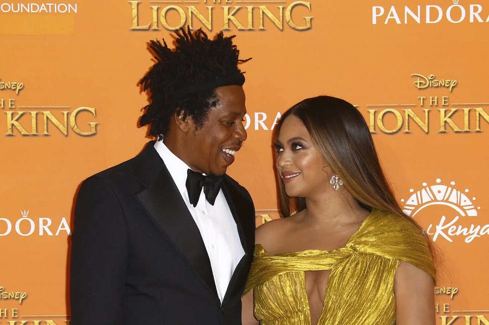 Jay-Z ir Beyonce (nuotr. SCANPIX)